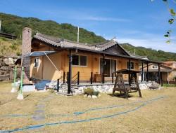 완공한지 8년만에 방문한 산청주택현장